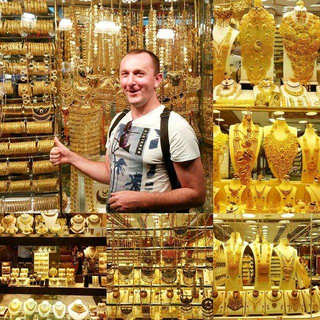 Dubai Ort zum Einkaufen beim Urlaub