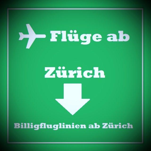 Billigflüge ab Zürich Buchen