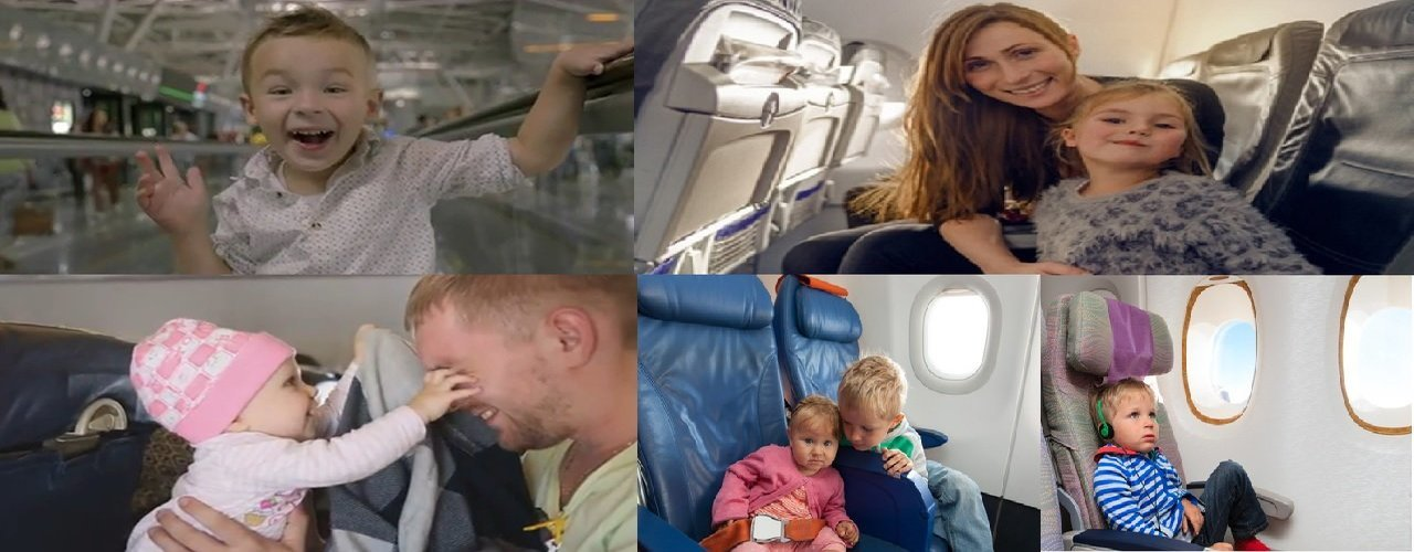 Weiter Tipps Flugreise Für Kinder und babys
